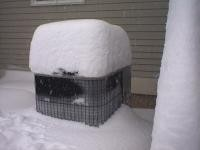 Effects of Excessive Snow on Heat Pumps