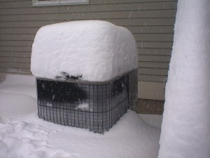 Heat Pumps and Snow