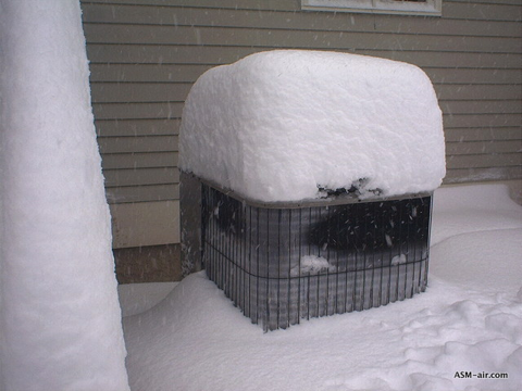 Winter Storm Tips Snow And Your Hvac System Carney